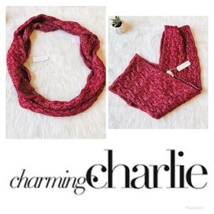 Charming Charlie |  Knit Infinity Scarf